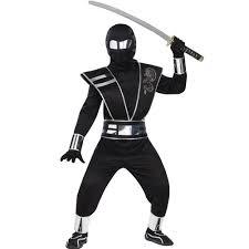amazon kids halloween costumes amazon com silver mirror ninja kids costume toys u0026 games