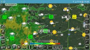 me the weather map weather map with hurricane tracks and future radar android apps
