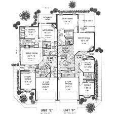 tudor style house plan 3 beds 2 baths 3844 sq ft plan 310 468