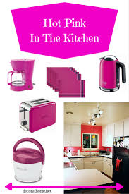 delonghi kmix 2 slice toaster pink in the kitchen