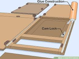 Installing Base Cabinets On Uneven Floor How To Install Rta Cabinets 11 Steps With Pictures Wikihow