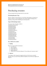 11 purchase agent resume mla cover page