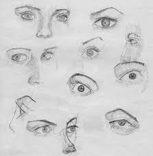 fem eye sketches by christoferrudd on deviantart