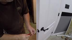 Dummy Door Knobs For French Doors - how to install door handles on double doors how to install a