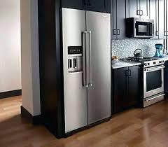 cabinet depth refrigerator lowes cabinet depth refrigerator elegant cabinet depth refrigerators