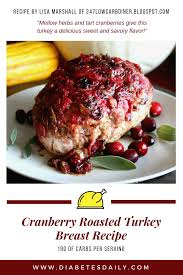 cranberry roasted turkey breast recipe png