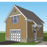 Two Story Garage Plans With Apartments Two Story One Car Garage Apartment Historic Shed Building Plans