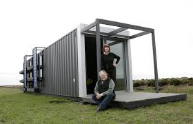 joseph dupuis shipping container home lead amys office