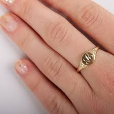 signet wedding ring viola s treasure signet ring catbird