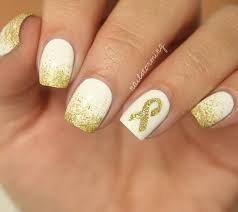 childhood cancer awareness ribbon nailstorming pinterest