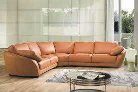 cool sectional leather sofa with elegant small sectional leather