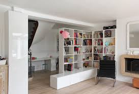 Houzz Bookcases Bookcase Room Divider Home Office Eclectic With Architecture