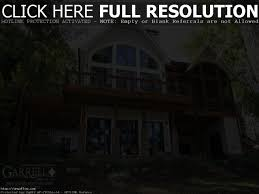 lakefront cabin cottage home designs house plans with basement