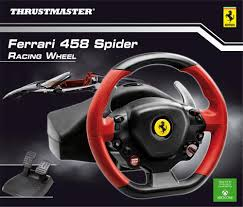 thrustmaster 458 review amazon in buy thrustmaster 458 spider racing wheel xbox