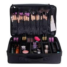 makeup artist accessories valdler black professional 15 makeup bag artist cosmetic storage