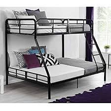Build A Bear Bunk Bed Twin Over Full by Amazon Com Walker Edison Twin Over Full Metal Bunk Bed White