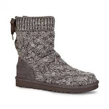 ugg isla sale isla grey knit boot