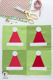 santa hat quilt blocks pattern the polka dot chair