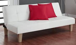 white leather futon sofa top 10 best white leather couches in 2018
