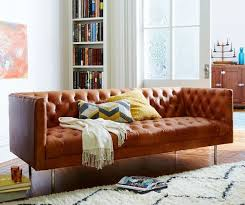 Chesterfield Leather Sofa Bed Chesterfield Leather Sofa