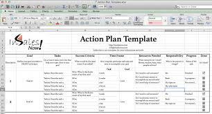 action plans templates excel trend markone co