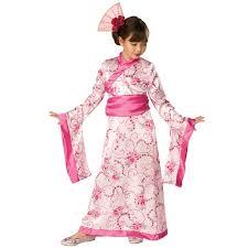 children u0027s japanese asian princess kimono girls fancy dress