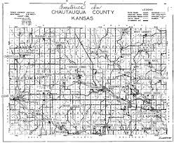 Kansas Counties Map Kansas Genealogy Chautauqua County Map Index