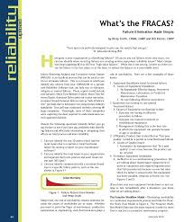 what is fracas failure reporting made simple