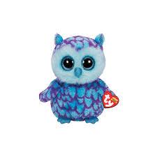 ty beanie boos oscar blue purple owl plush walmart