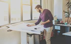 Standing Or Sitting Desk by Budget To Build A Standing Desk Simple