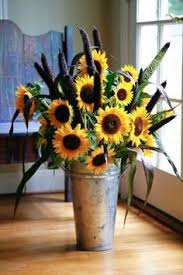 Centerpieces With Sunflowers by Three Ways To Decorate With Sunflowers Kitchen Garden Window