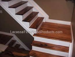 custom tigerwood stair treads toronto