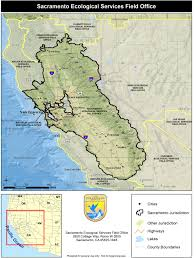 Sacramento Ca Zip Code Map by Sacramento Fish And Wildlife Office Home Page