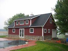 Garages That Look Like Barns No The Outside Ain U0027t Log But Just Wait Until You See The