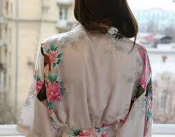 sexe femme de chambre acheter 2015 robe de soirée en soie kimono robe de robes en satin