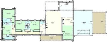 plan maison 150m2 4 chambres plan maison contemporaine plain pied 4 chambres 100 images