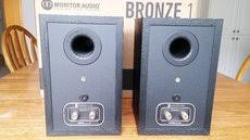 monitor audio bronze 1 bookshelf speakers for sale canuck audio mart