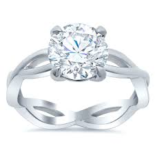 infinity engagement rings infinity style solitaire engagement ring