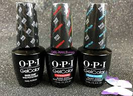 opi gelcolor base coats with benefits collection 3 pcs gc826 i gel