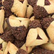 oh nuts purim baskets bulk chocolate hamantaschen w cookie crumbs 14lb