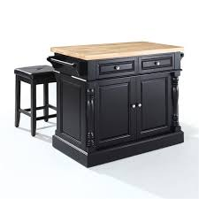 crosley furniture kitchen island crosley furniture kf300065 butcher block top kitchen island with 24