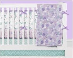 girls pink and purple bedding mermaid crib bedding ocean nursery bedding baby crib