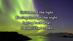 Children Of The Light Hillsong Children Of The Light Instrumental With Lyrics Youtube