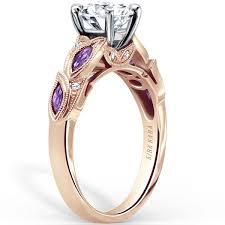 amethyst engagement rings kirk kara dahlia amethyst engagement ring