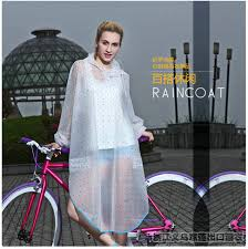 raincoat for bike riders pvc transparent raincoat women men bicycle bike ride electric