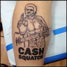 cashsquatch work in progress by nic lebrun tattoos