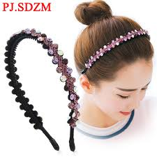 hair accessories for women luxury cz hairbands fashion women hair accessories fashion