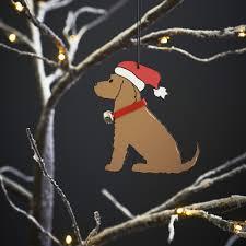 golden cocker spaniel dog christmas tree decoration 7 95