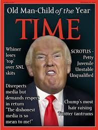 Whiner Meme - old man child of the year trump s fake time cover know your meme