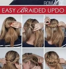 easy waitress hairstyles simple updo hairstyles step by step 2 minute elegant bun hairstyle
